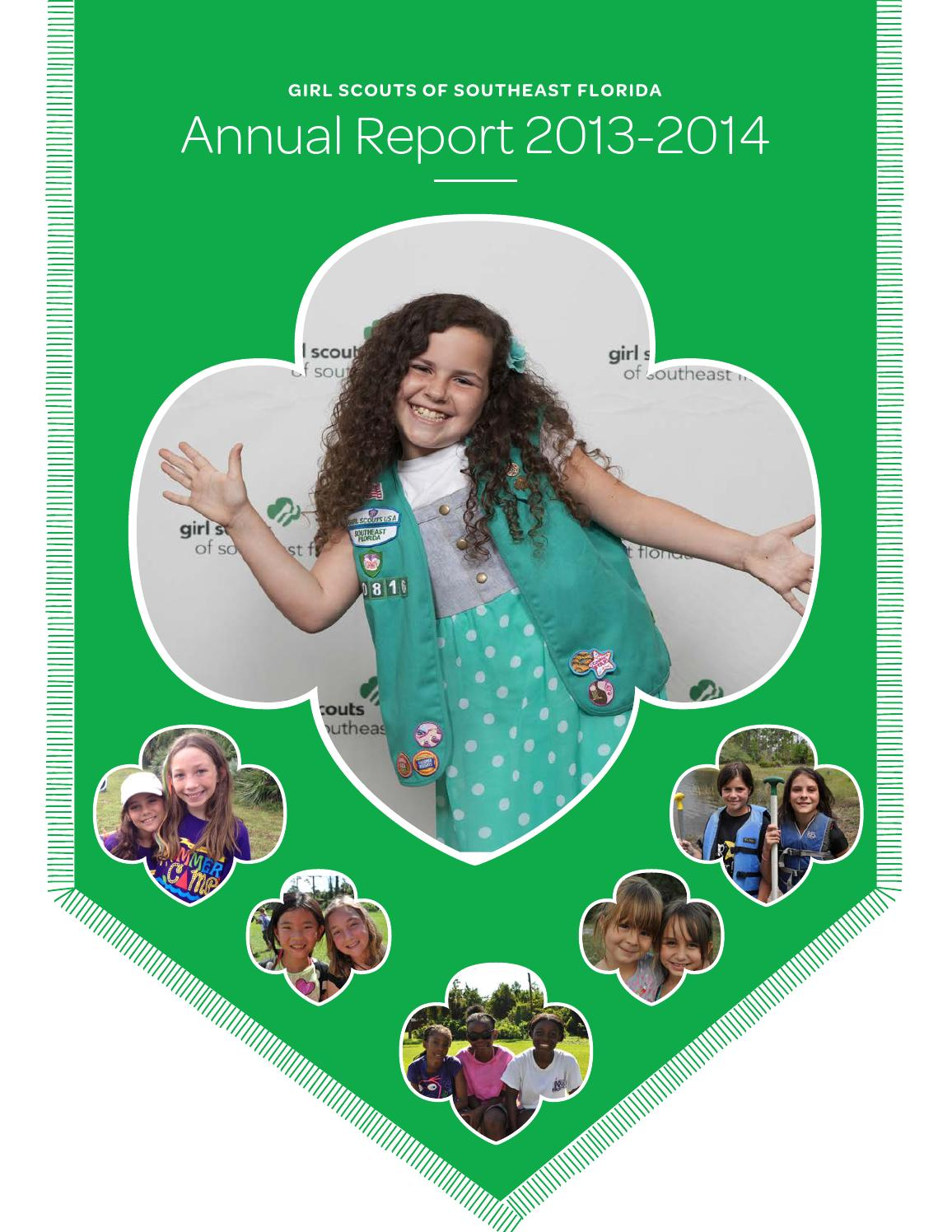 gssef annual report 2013 2014 by girl scouts of southeast