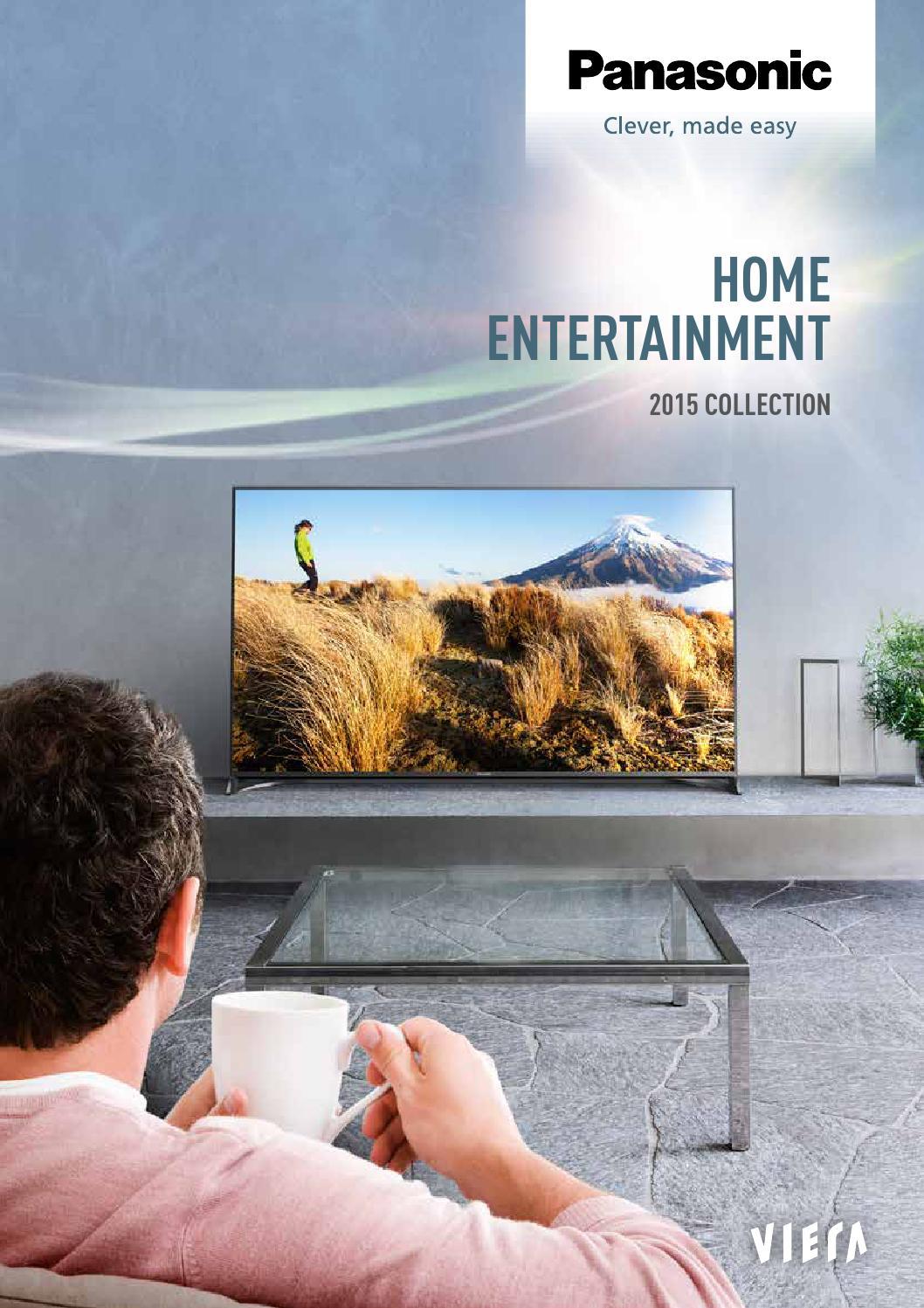 panasonic home entertainment brochure 2015 by panasonic nz issuu. Black Bedroom Furniture Sets. Home Design Ideas