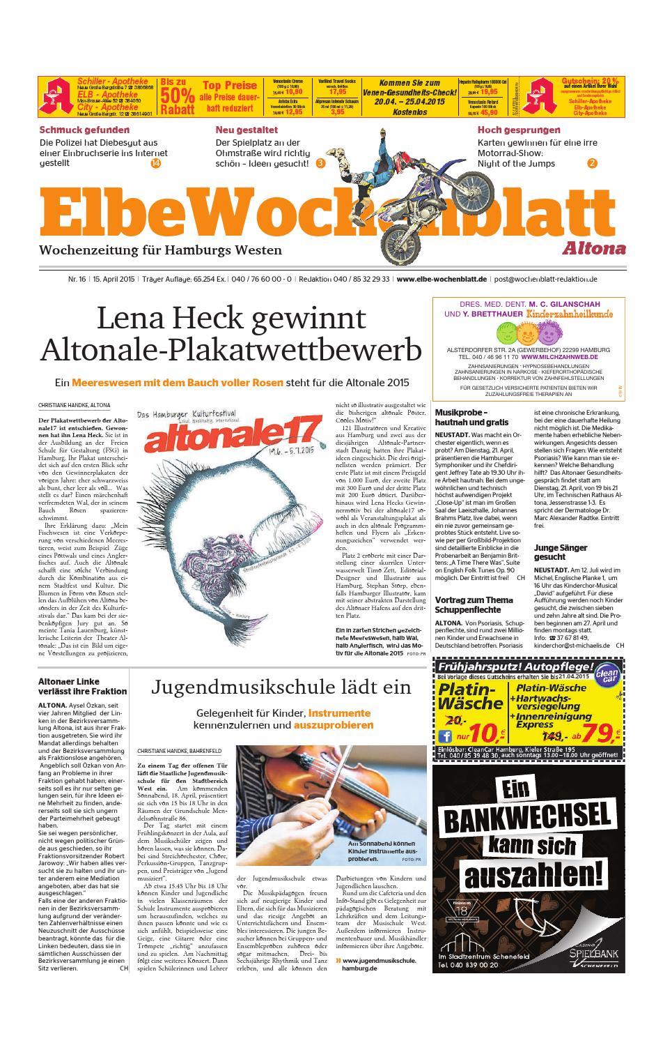 Altona KW16-2015 by Elbe Wochenblatt Verlagsgesellschaft mbH & Co.KG - issuu