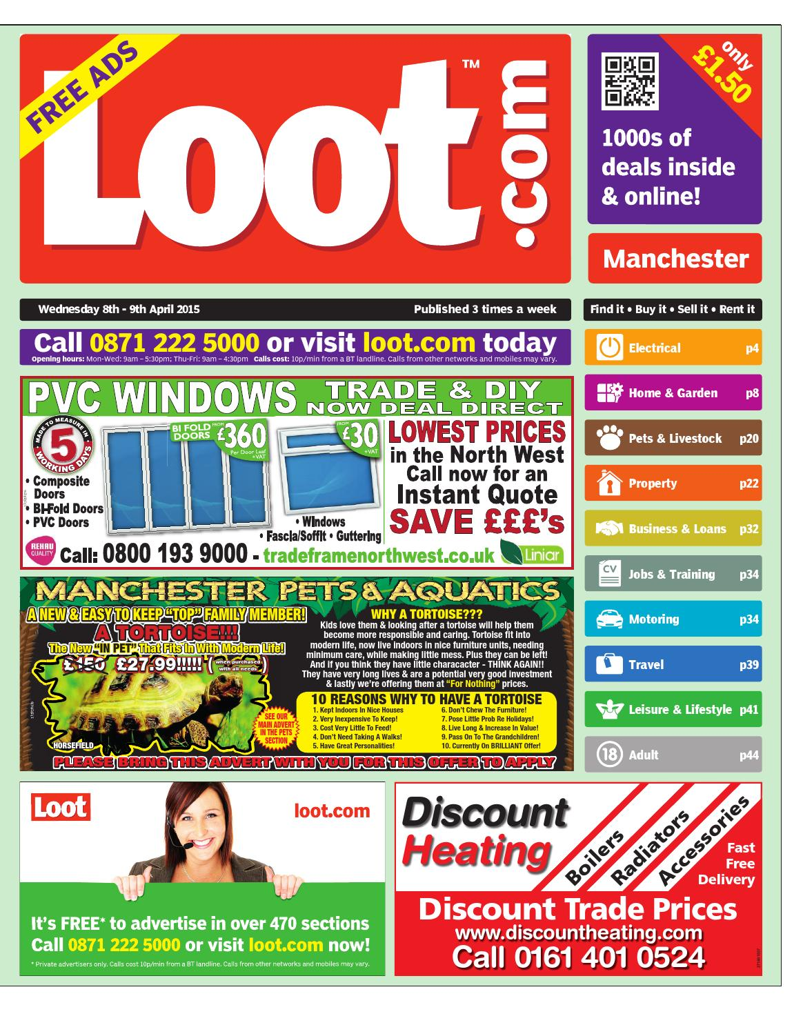 f49f8915a5 Loot Manchester, April 8th 2015 by Loot - issuu
