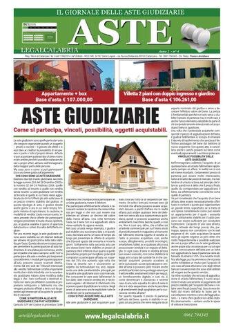 Legalaste Calabria By Aste Legal Calabria Issuu