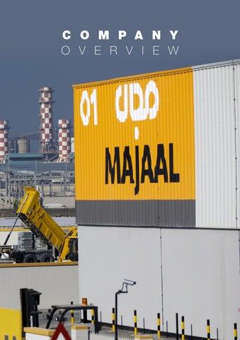 Majaal Warehousing Company - Brochure 2015 by Supply Chain