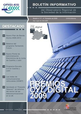 Boletin ORSI - Nº 17 by CyL Digital - issuu