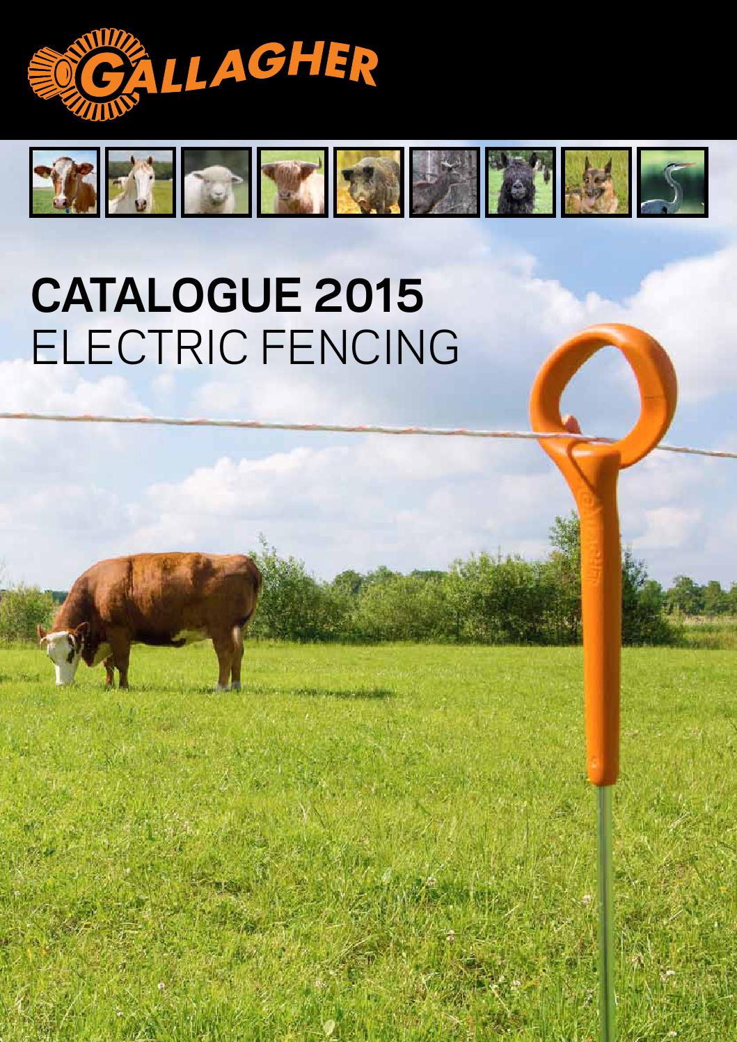Catlogo Gallagher 2015 By Agrovete Issuu Fencing Electric Accessories 7 Strand Fence Wire