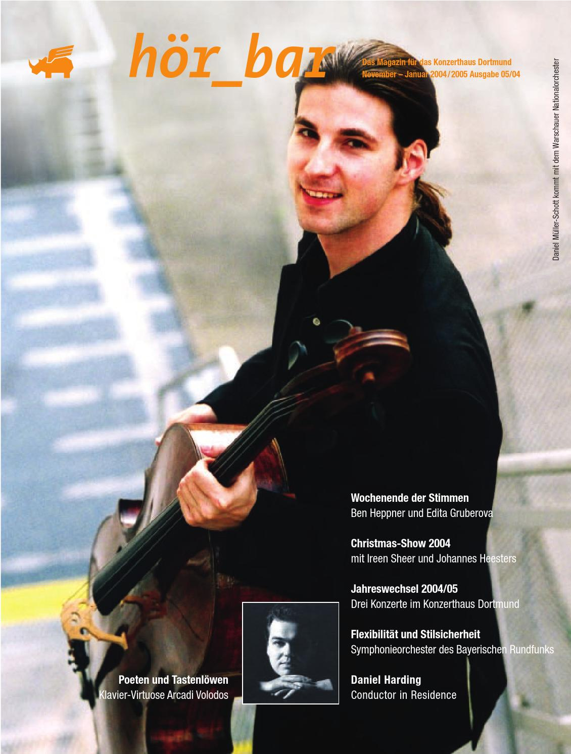HÖRBAR 02 |2004|05 by Konzerthaus Dortmund - issuu