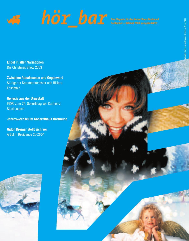 HÖRBAR 02 | 2003|04 by Konzerthaus Dortmund - issuu
