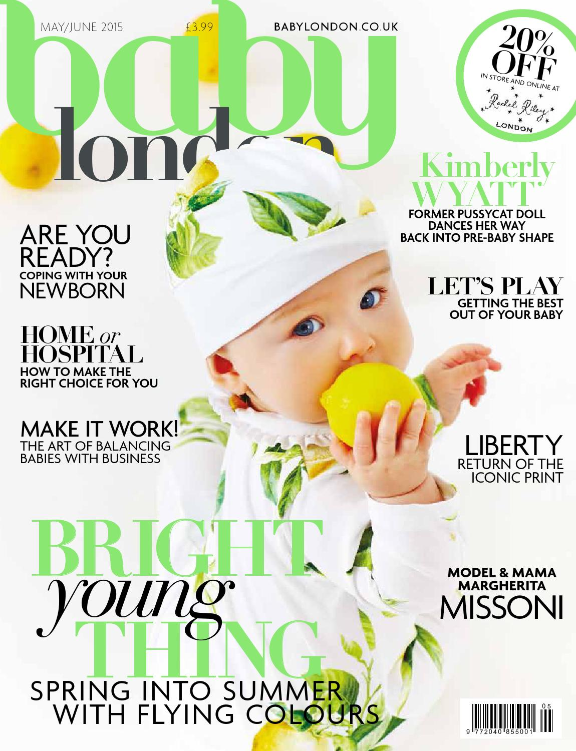 83d5cdf8c Baby London May/June 2015 by The Chelsea Magazine Company - issuu