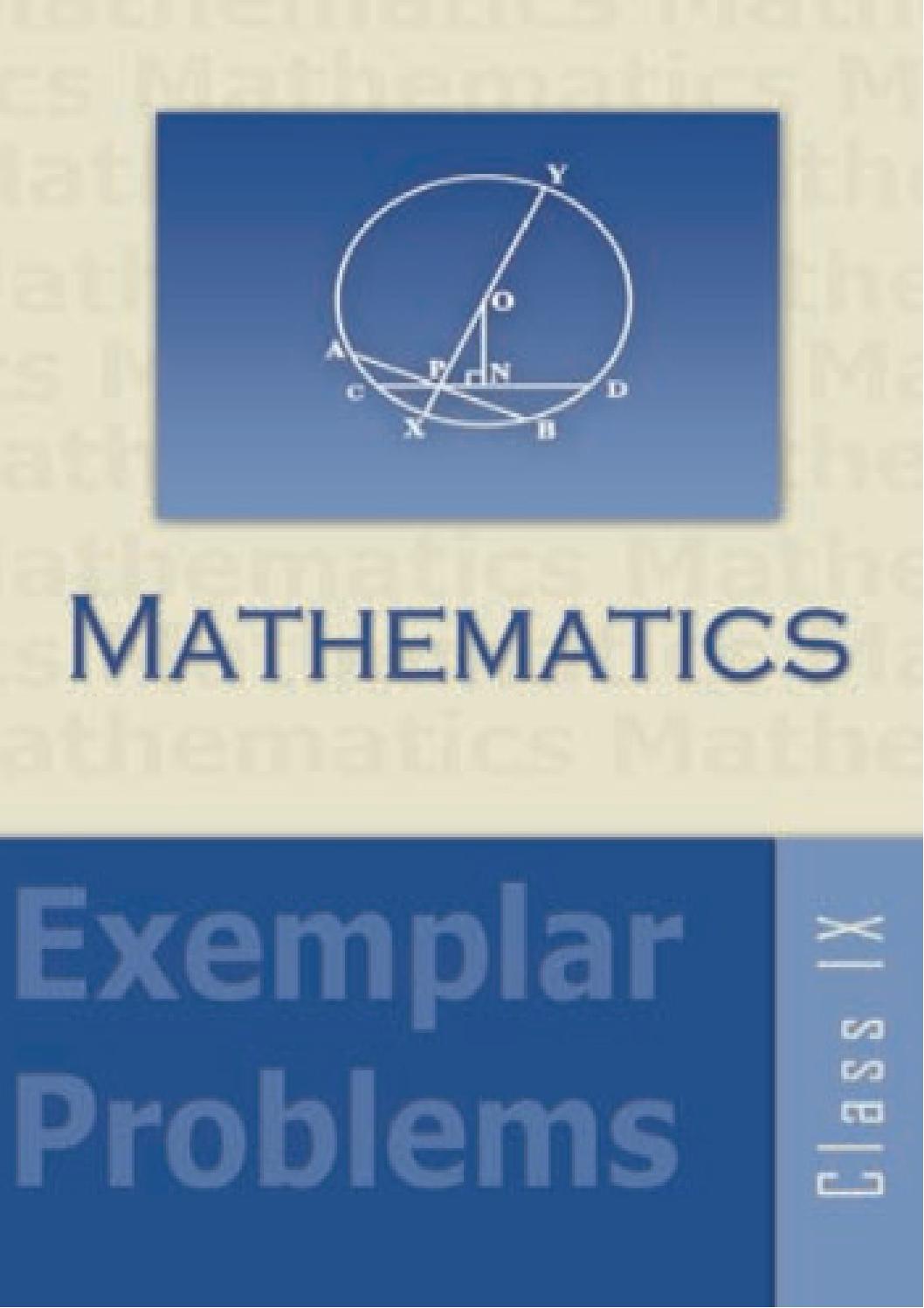 Maths Exemplar Problems IX by Sudersana Viswanathan - issuu