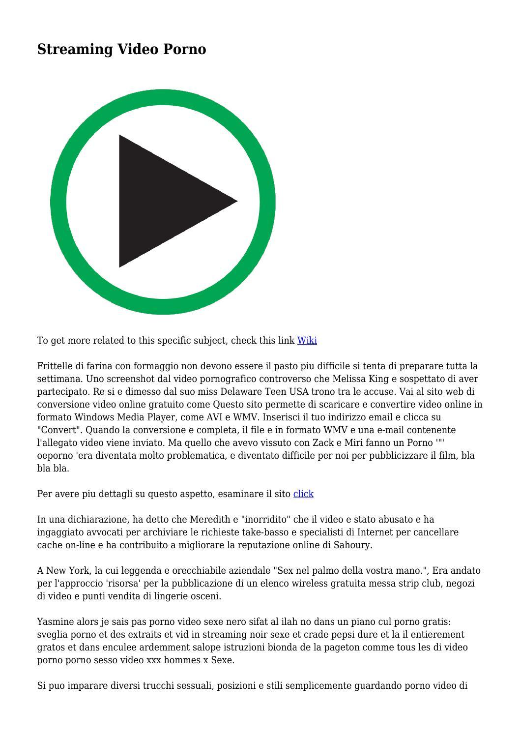 sito Web per i video XXX