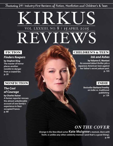 April 15 2015 volume lxxxiii no 8 by kirkus reviews issuu page 1 fandeluxe Image collections