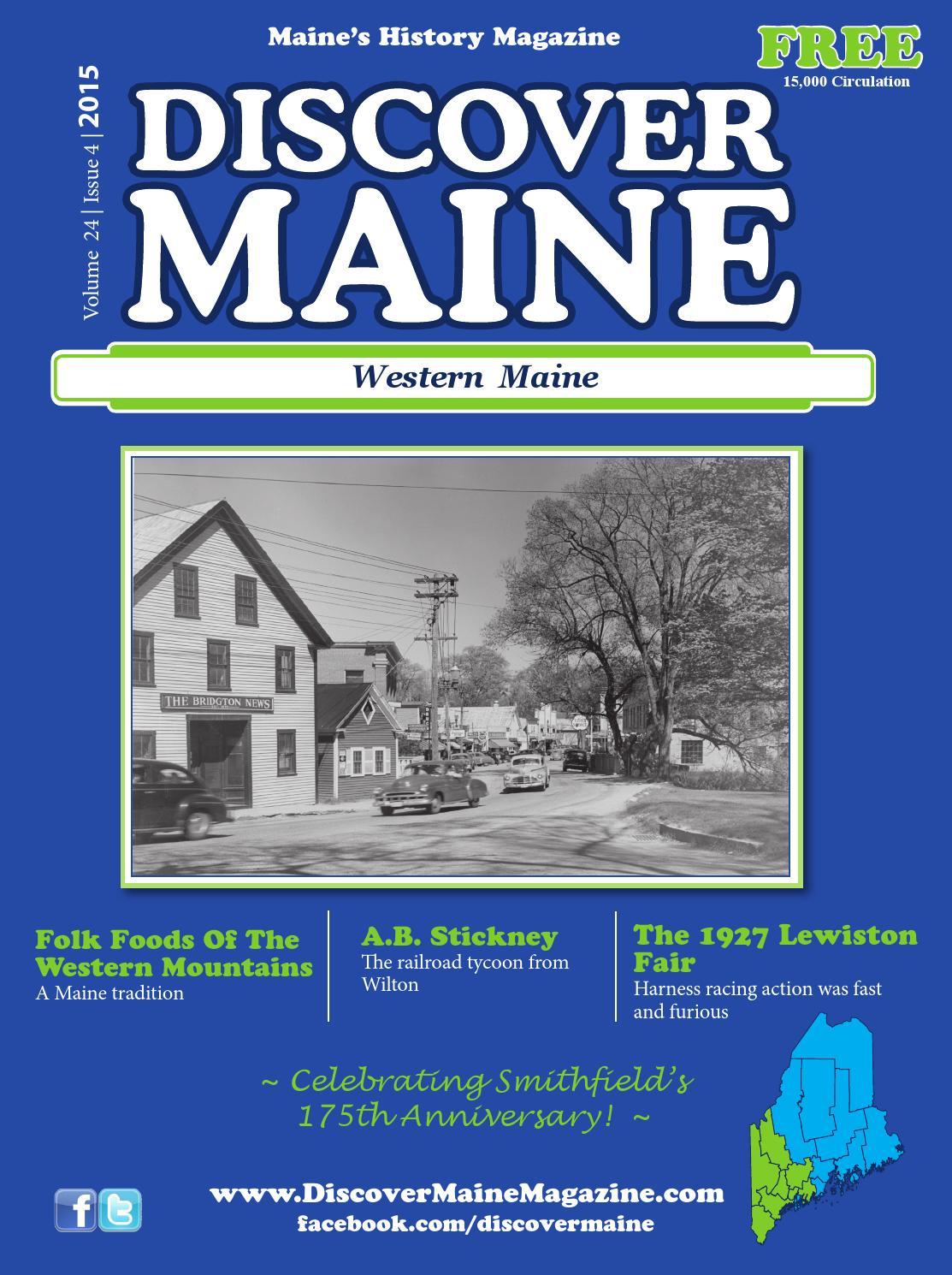 1915 Sanford /& Springvale Maine Trolley /& Railroad Hand-drawn Reprint Map C