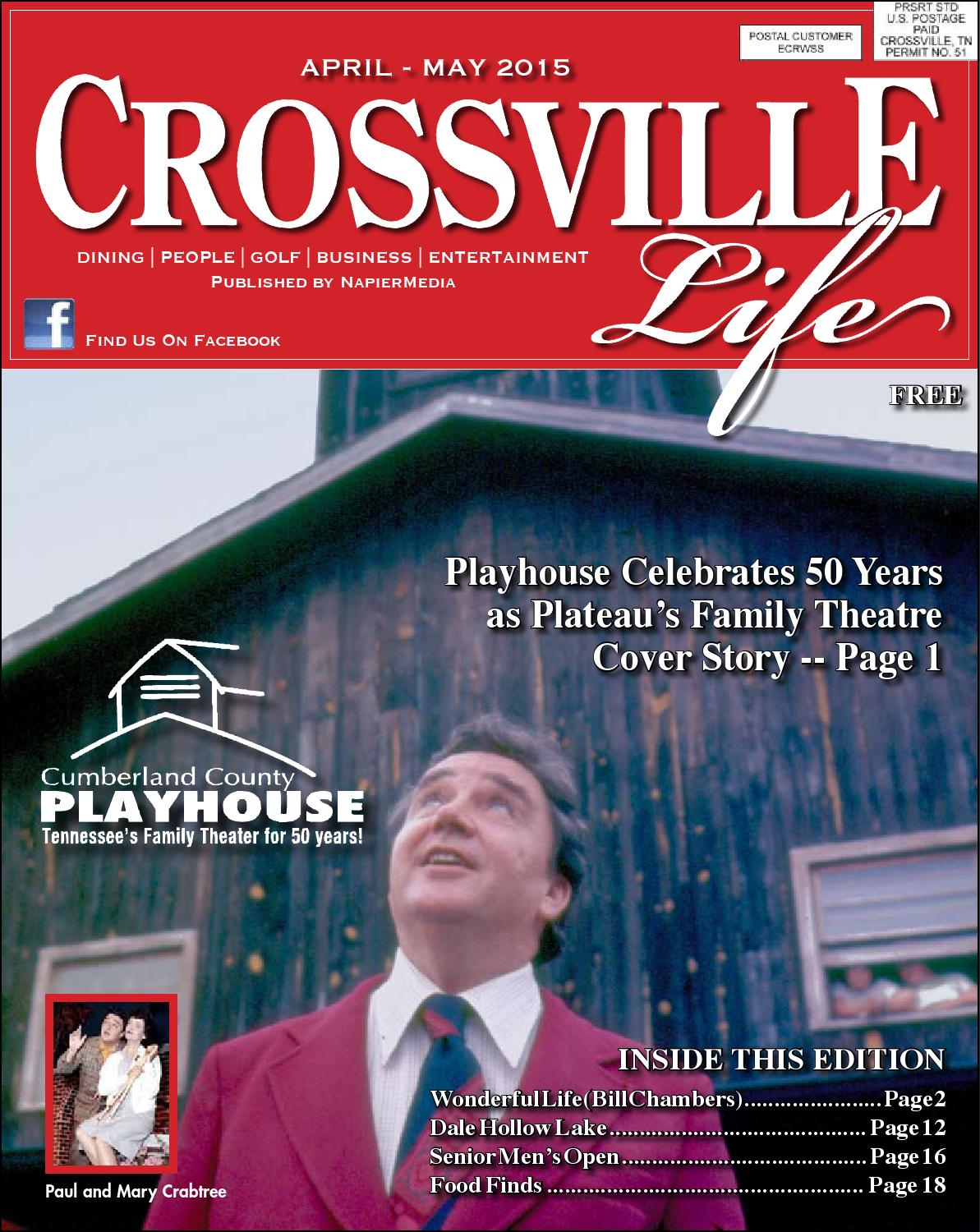 Healthgrades 50 Best Hospitals 2016: Crossvillelife, April-May 2015 By Weaver Web And Print