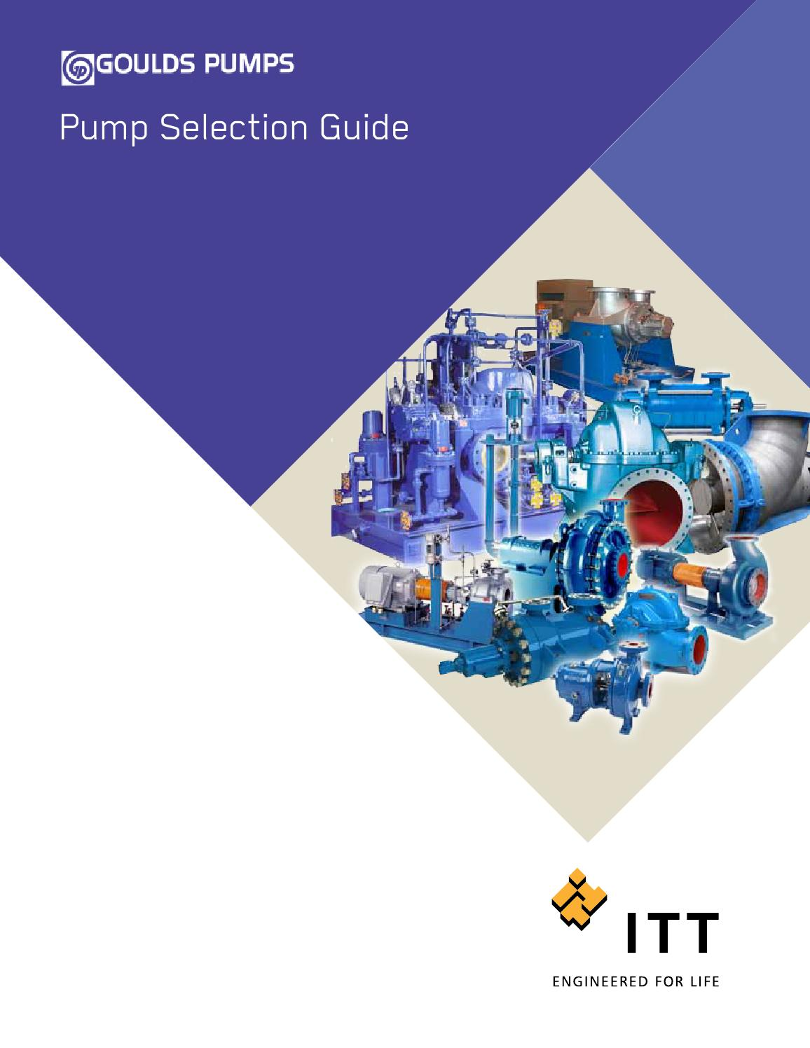 Goulds Pumps Pump Selection Guide by Tencarva Machinery Company - issuu