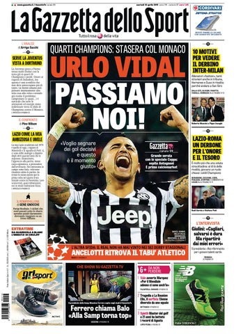La Gazzetta dello Sport (04-14-2015) by Nguyen Duc Thinh - issuu c39c8eba2691b