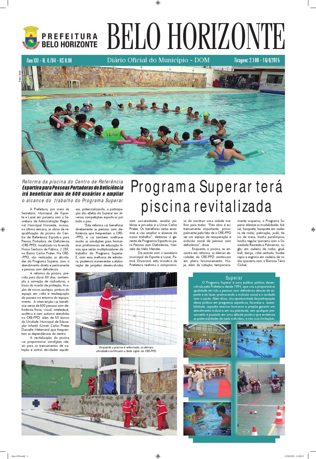 5a5acc996 DOM - 16 04 2015 by Prefeitura Belo Horizonte - issuu