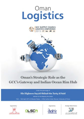 Oman Logistics Magazine for GCC Supply Chain & Logistics Conference