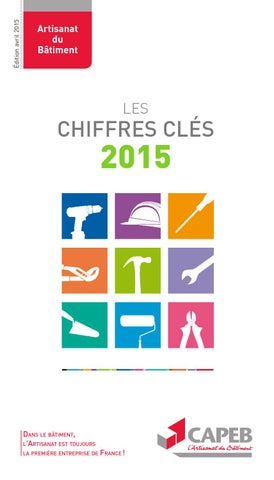 chiffres cl s artisanat du b timent 2015 by capeb issuu