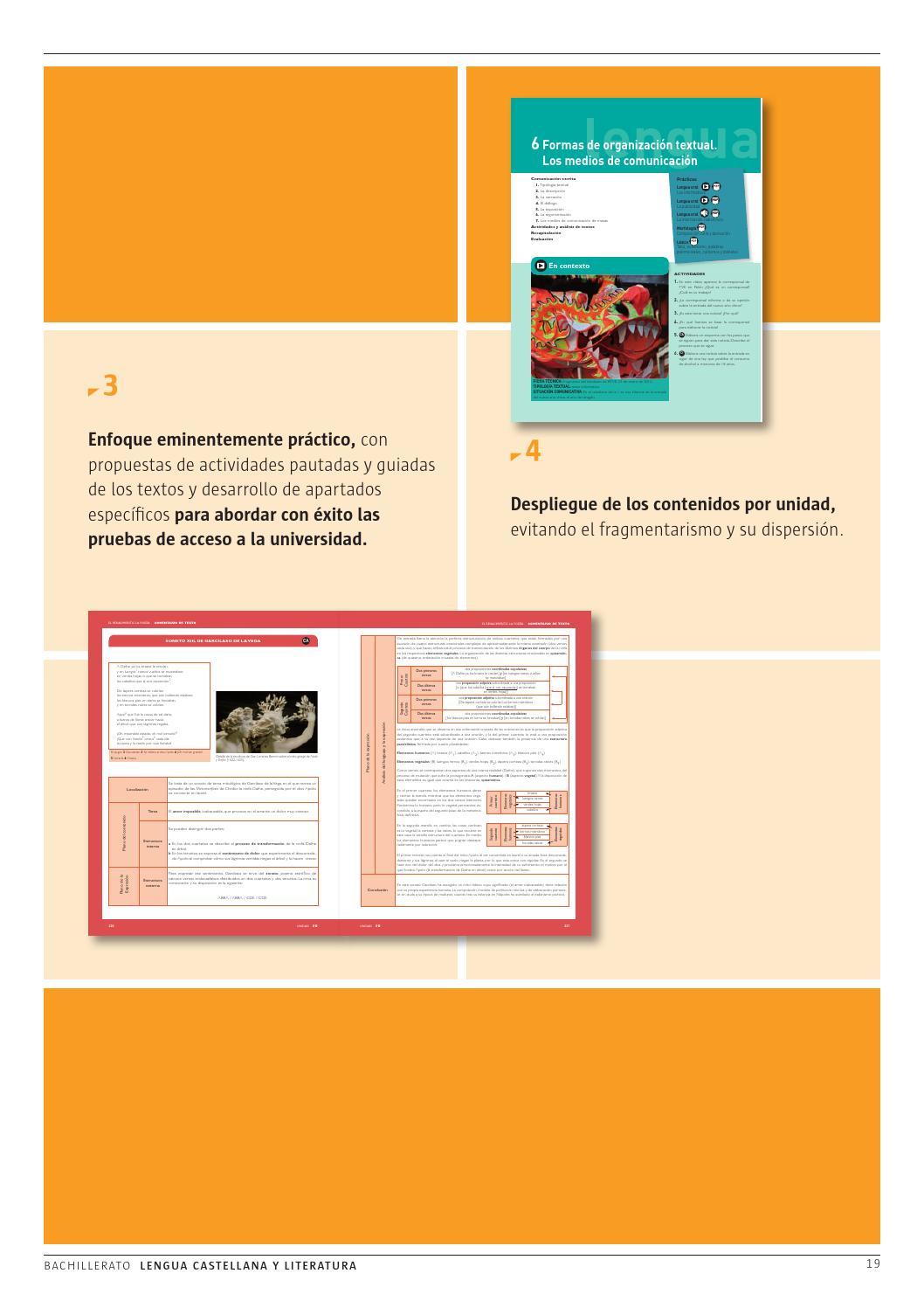 Lengua Castellana Y Literatura Editorial Casals 2015 By