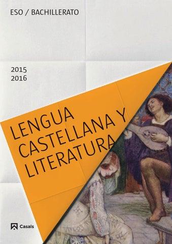 Lengua castellana y Literatura, Editorial Casals, 2015 by
