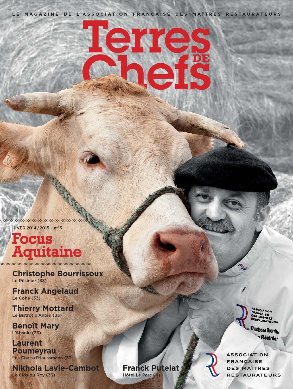 Terres De Chefs N 15 By Maitres Restaurateurs Afmr