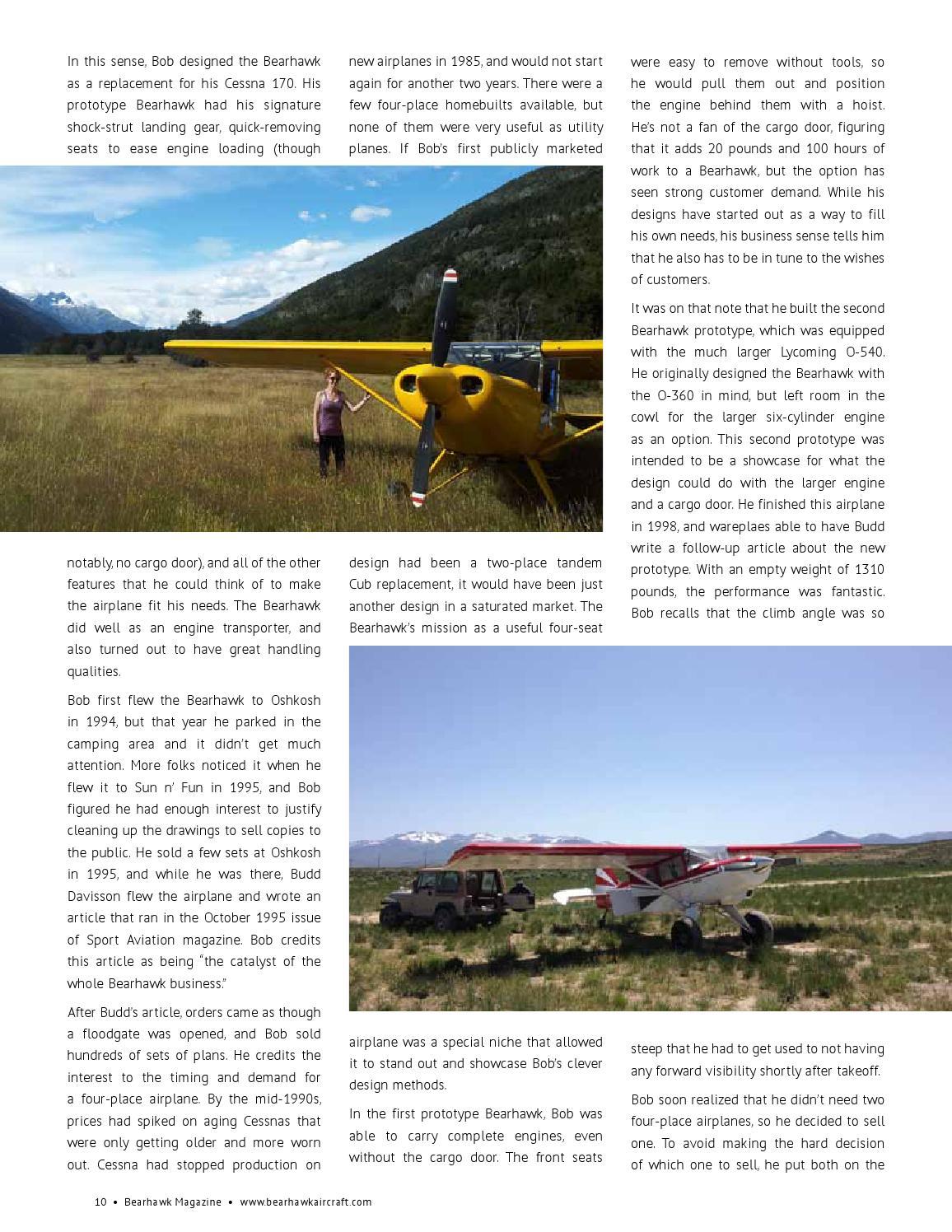 Bearhawk Magazine - April 2015