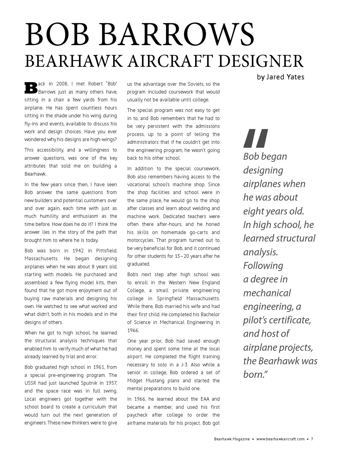Bearhawk Magazine - April 2015 by m t - issuu