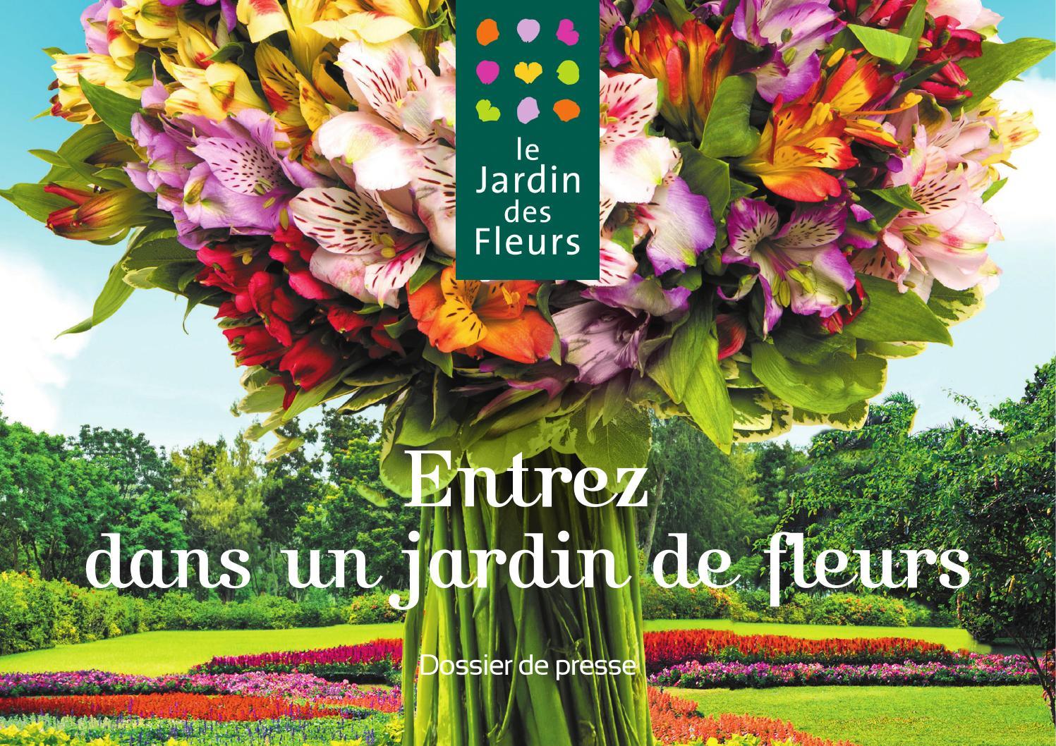 dossier presse le jardin des fleurs 2015 by flora nova issuu. Black Bedroom Furniture Sets. Home Design Ideas