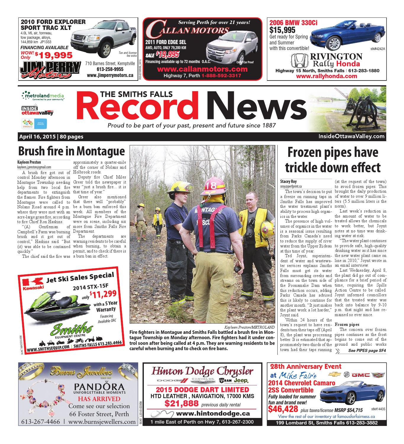 Smithsfalls041615 By Metroland East Smiths Falls Record News Issuu Upto 73 Op Amp Circuit Collection 8211 Pdf