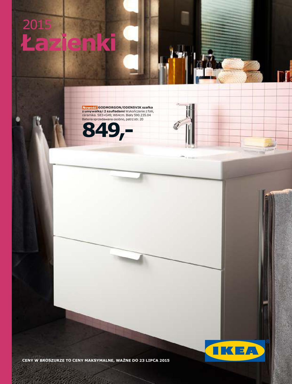 Ikea łazienki 2015 By Finmarket Issuu