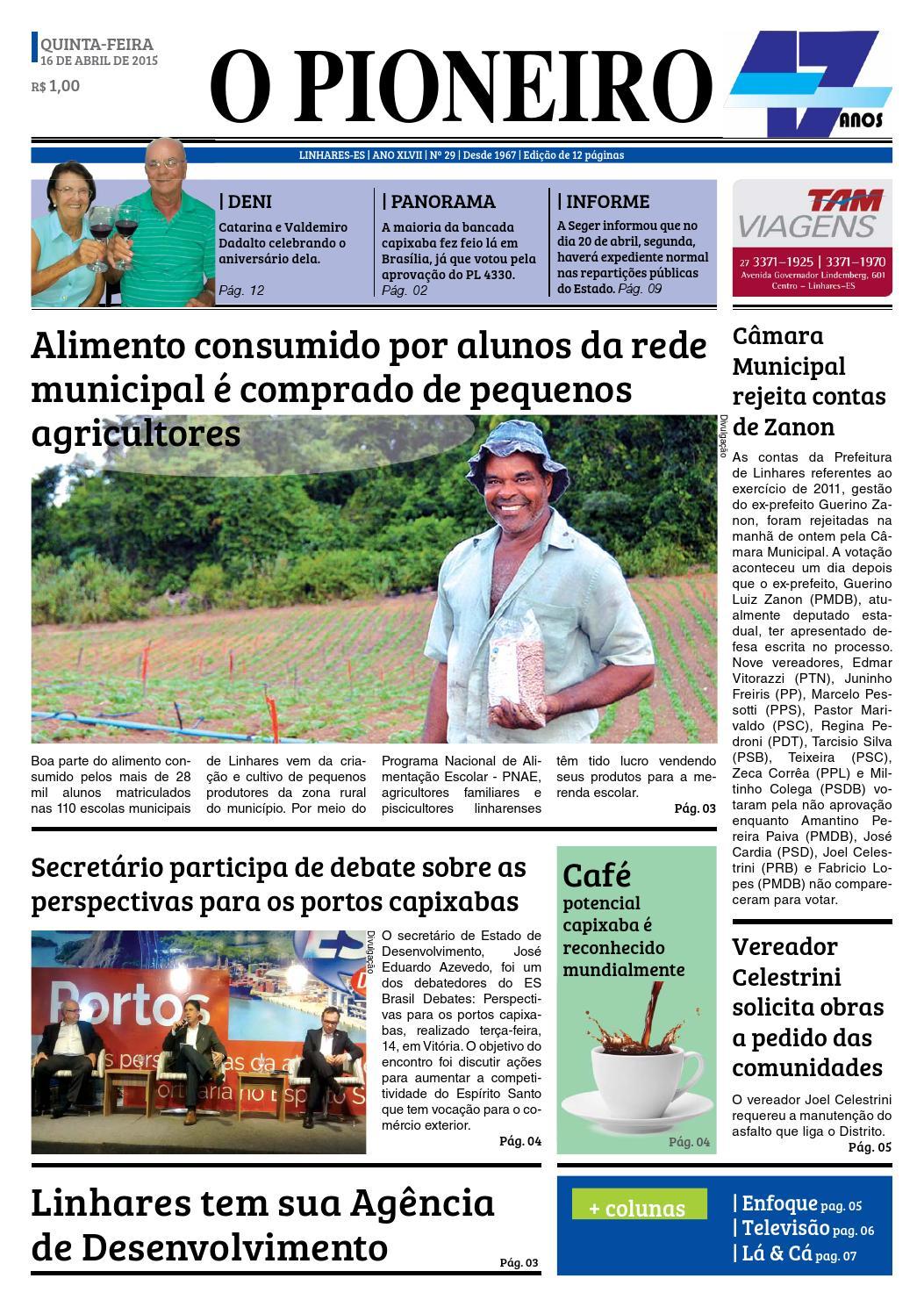 a6a05c3c24fa9 O PIONEIRO 16 DE ABRIL DE 2015 by Jornal O PIONEIRO - issuu