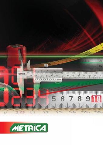 Metrica 12120 Long jaws vernier caliper 300mm