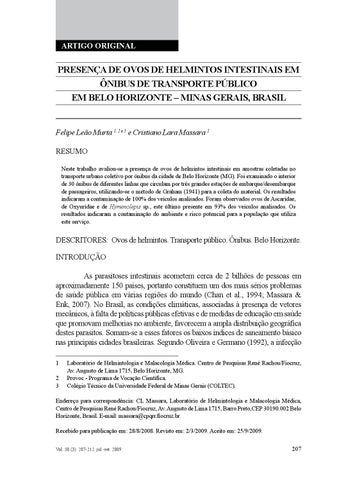 jurnal de helmintologie)