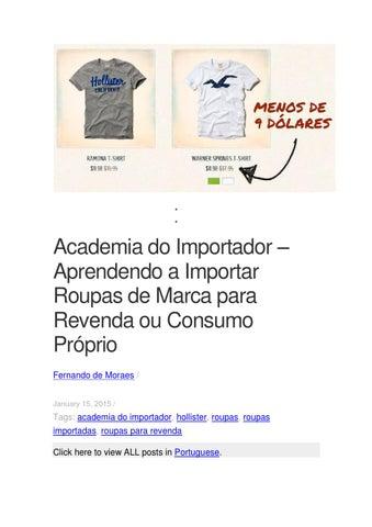 627a7e06d Academia do importador aprendendo a importar roupas de marca para ...
