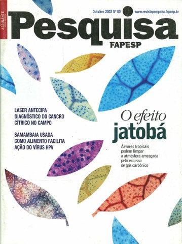 87d5bddd0fb80 O efeito jatobá by Pesquisa Fapesp - issuu