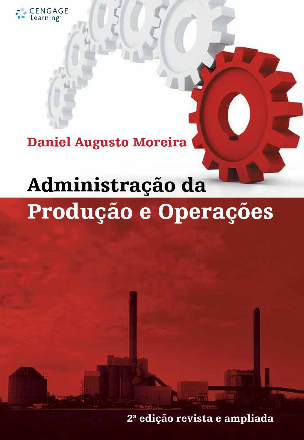 Administração da Produção e Operações by Cengage Brasil