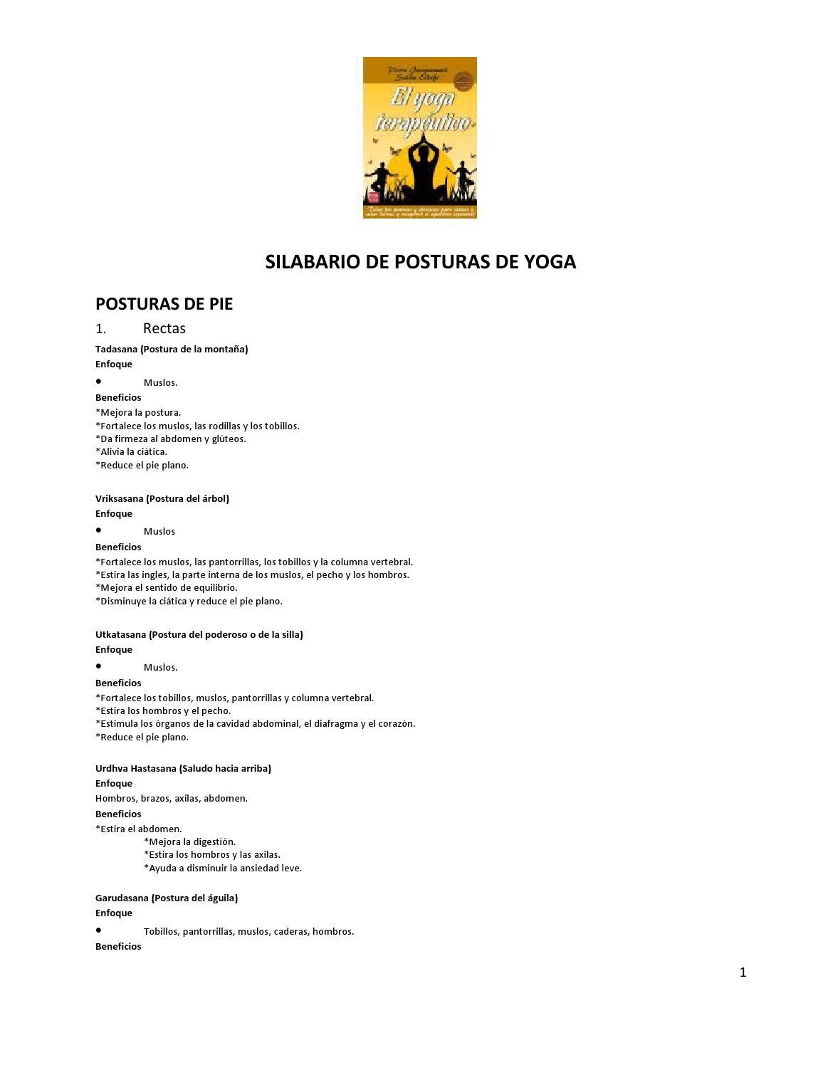 Silabario de yoga by orosa   issuu