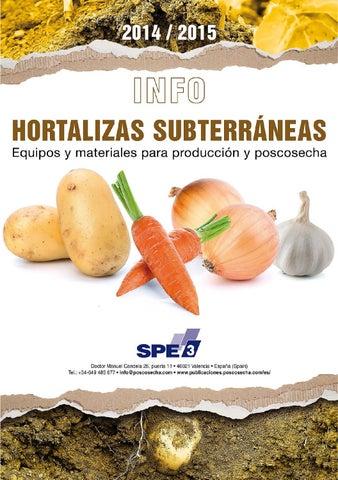 2cc6ef7c2 INFO Hortalizas Subterráneas 2014 / 2015 by Horticultura ...