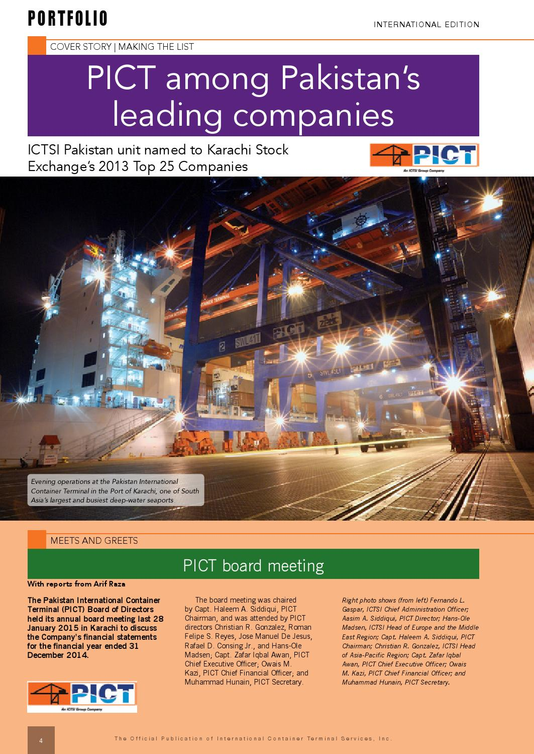 March 2015 portfolio international edition by ICTSI PRO - issuu