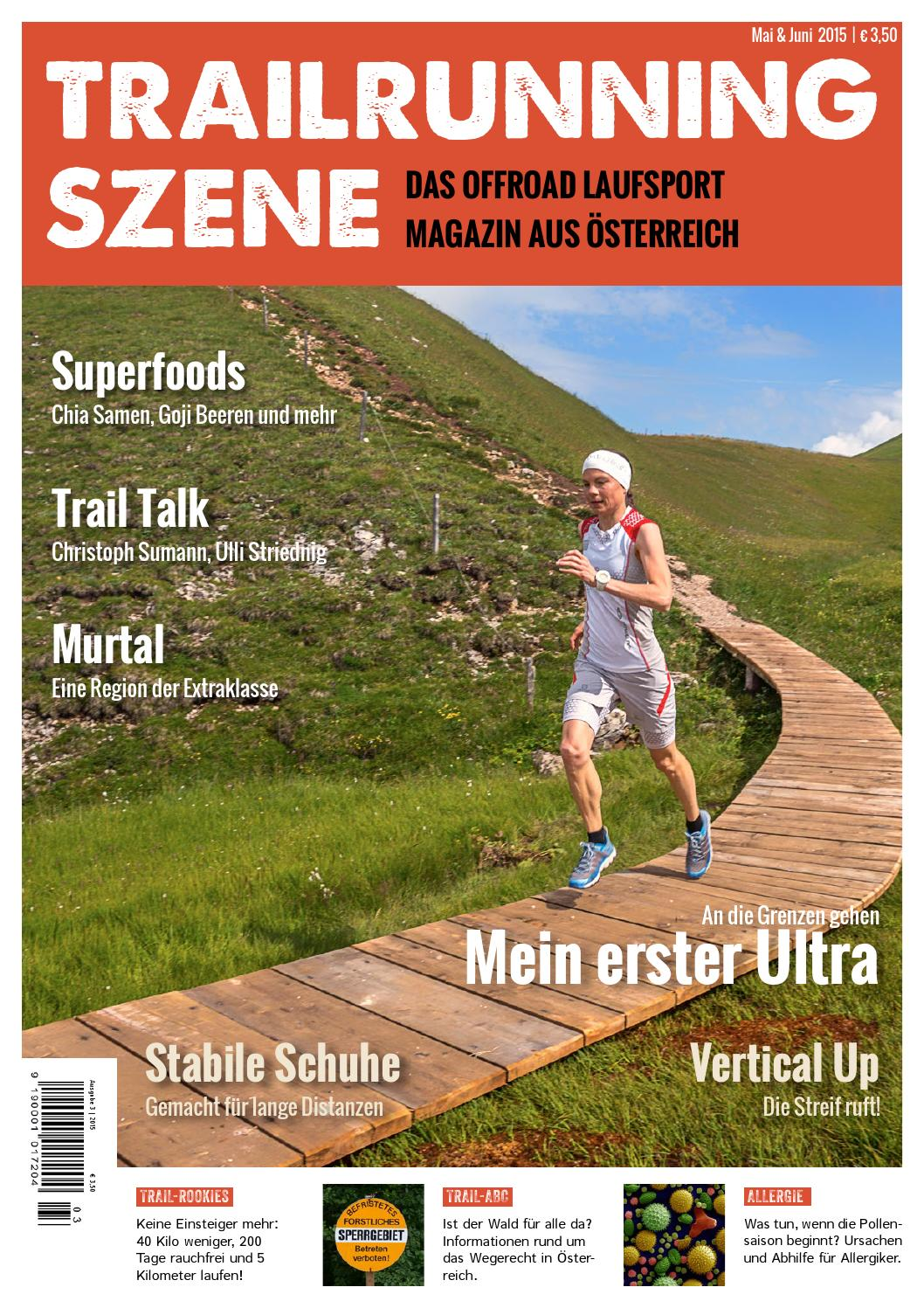 TRAILRUNNING SZENE Ausgabe #032015 by Trailrunning Szene
