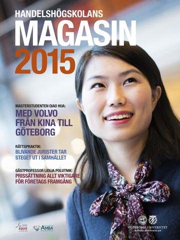 Handelshögskolans Magasin 2015 by School of Business 3aebb78b39e0a