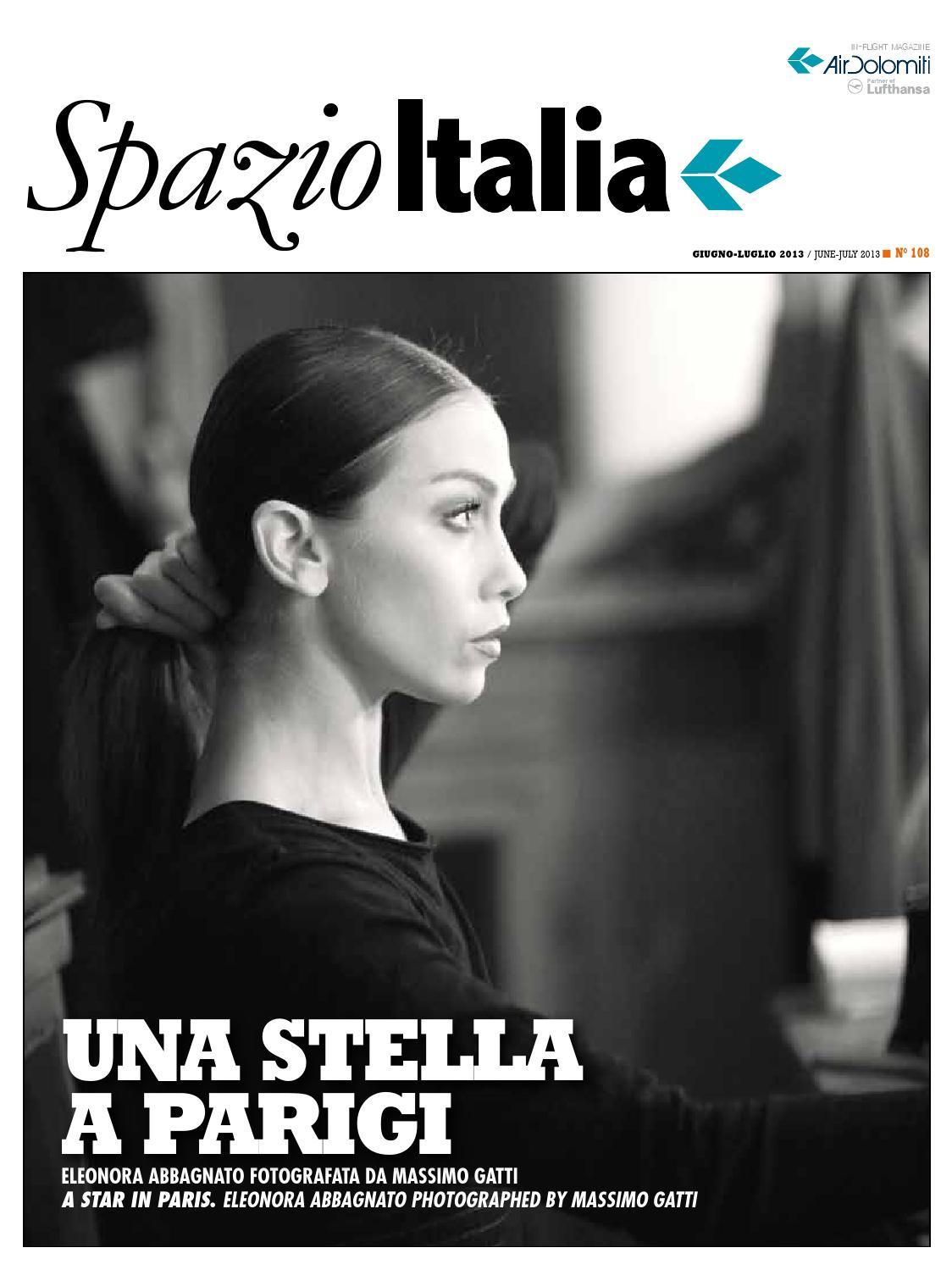 Spazio Italia Magazine no. 108 by AIR DOLOMITI - issuu 4cfb15b0af6