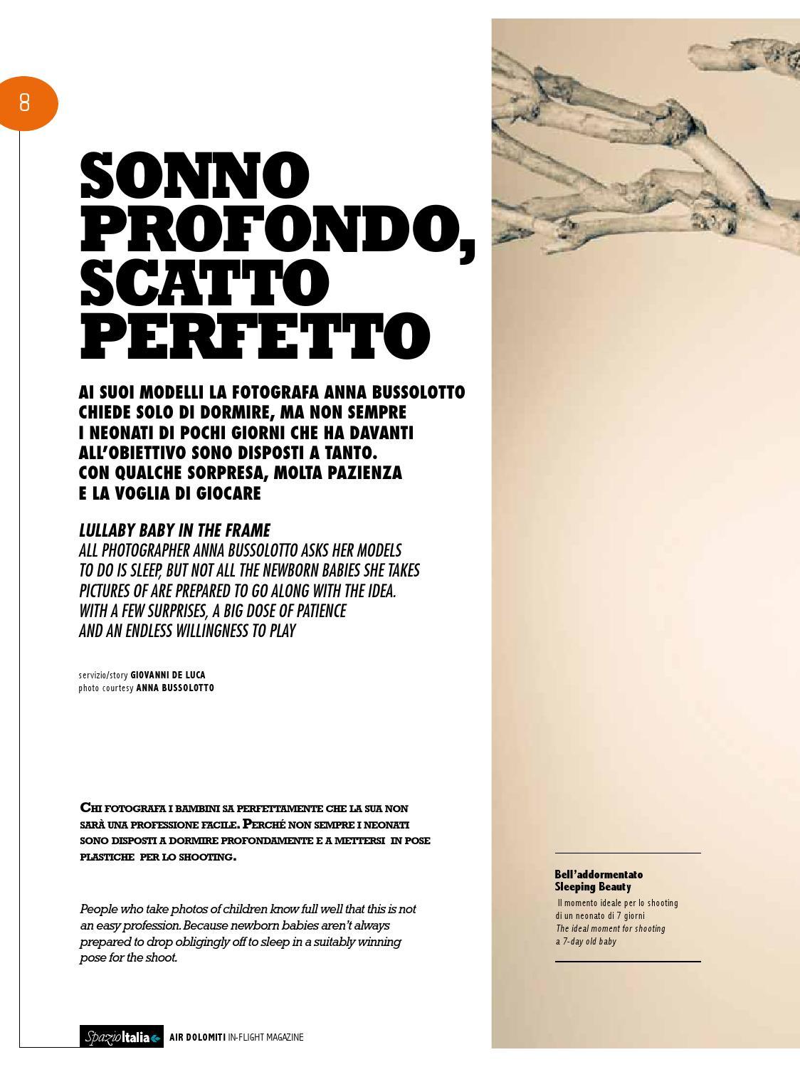 Spazio Italia Magazine No 109 By Air Dolomiti Issuu