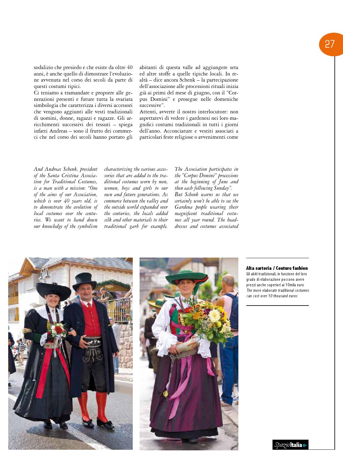 Spazio Italia Magazine no. 109 by AIR DOLOMITI - issuu