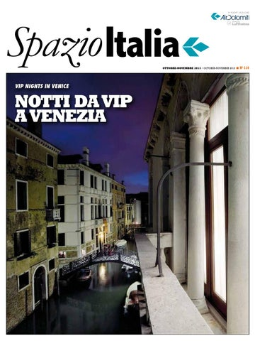 Spazio Italia Magazine no. 110 by AIR DOLOMITI - issuu 91187d70c3a