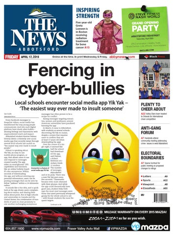 huge selection of e70cd c8a80 Abbotsford News, April 17, 2015 by Black Press - issuu