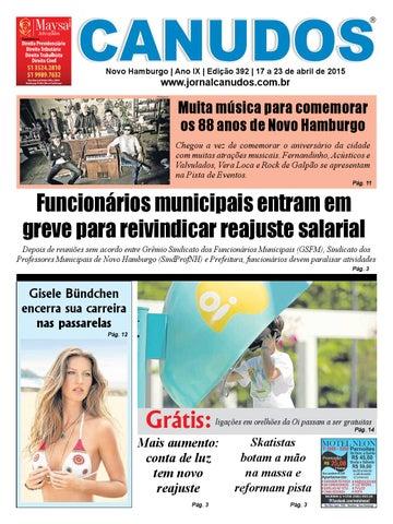 51828fafa Jornal Canudos - Edição 392 by Jornal Canudos - Reportagem - issuu