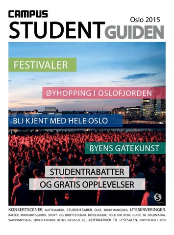 24e43ab0a Studentguiden Oslo 2015 by StudentTorget - issuu