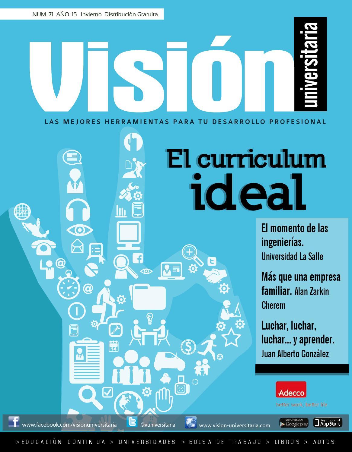 Visión Universitaria - Revista Núm. 71 Año 15 - 2015 by Visión ...