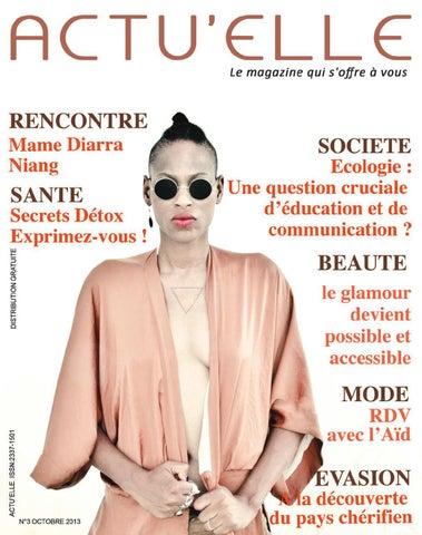 2d23155fa8a Actu elle n° 03 octobre 2013 by Actu elle magazine Sénégal - issuu