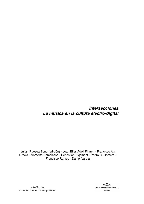 Intersecciones by arte-facto, cultura contemporánea. - issuu